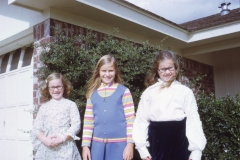 Lisa, Deirdre and Laurie, 1972