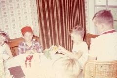 Paul III, Laurie, Lisa, Mayes - Midland July 1968