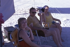 Barbara Mayes, Bill and Janice Chapelle Padre Island