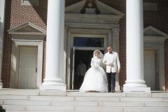 Paul Jr. and Barbara Mayes Wedding, 1956