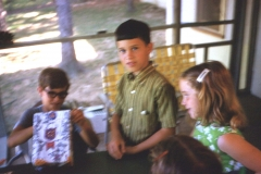 Paul III, Jay Miller, Lisa Arkansas, 1970