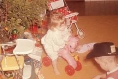 Paul and Lisa, Christmas 1965 Abilene