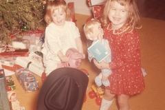 Paul, Laurie and Lisa, Christmas 1965 Abilene