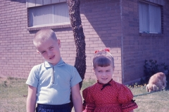 Paul and Laurie, Abilene 1966