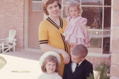 Barbara, Paul, Laurie, Lisa Easter 1966