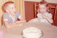 Paul and Lisa Abilene 1966 (Lisa's 2nd birthday)