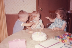 Paul, Laurie and Lisa Abilene 1966 (Lisa's 2nd birthday)