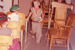 Paul III school play, Abilene 1966