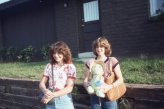 Laurie and Heather, Tulsa 1977