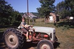 Paul III on tractor