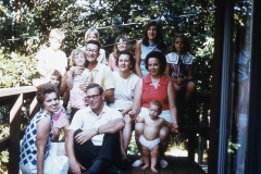 Mayes Family with friends in Arkansas 1969