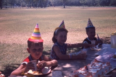 Paul III 6th birthday 1966 Abilene