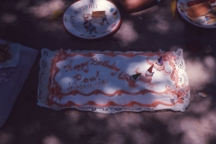 Paul III 6th birthday cake 1966 Abilene