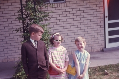 Paul, Laurie, Lisa El Paso 1968