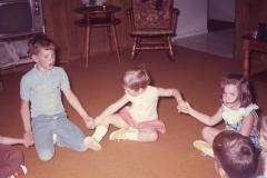 Paul, Lisa, Laurie- Midland 1968