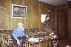 Howell and Barbara, Christmas 1972
