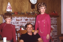 Kyle, Dan and Dawn Wells - Midland 1972