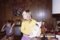Lisa and Paul III, Christmas Midland 1972