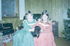 Laurie, Lisa and Snow Midland 1972
