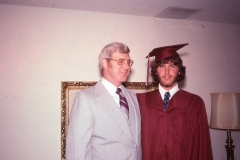 Paul III and Paul Jr., Tulsa 1978