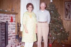 Howell and Lillian Johnson, Christmas 1968 Midland