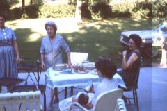 Lillian Johnson, Barbara Mayes, Lisa Mayes (baby)