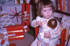 Laurie Mayes Christmas 1963 Wichita Falls