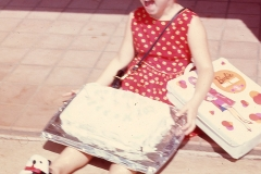 Laurie 5th Birthday, Midland 1967