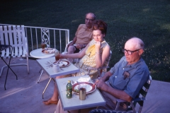 Walter Polk, Barbara Johnson, Howell Johnson