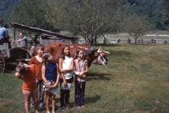Linda and Susan Chaplle, Paul, Laurie, Lisa, 1971