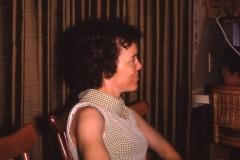 Next door neighbor Charlotte White, Midland 1968