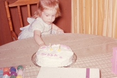 Lisa Abilene 1966 (Lisa's 2nd birthday)