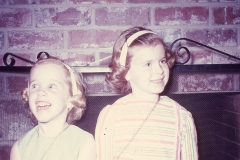 Lisa, Laurie Midland Easter 1968