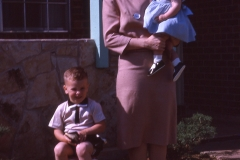 Paul III, Laurie and Barbara Mayes 1962