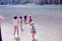 Paul, Laurie, Lisa Mayes, Linda and Susan Chapelle Wyoming 1967